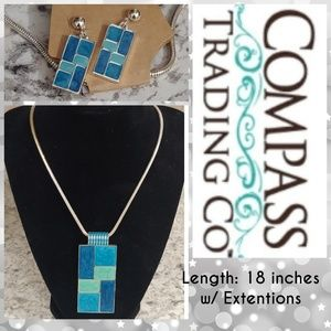 Jewelry - 🆕WT! Compass Trading Co Jewlery Set
